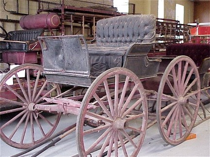 Antique Fire Buggy